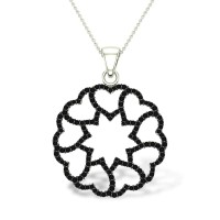 Rose Diamond Pendant