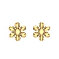 Ruchi Gold Stud Earring