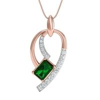 Samridhi Gold and Diamond Pendant