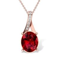 Sasha 18kt Gold and Diamond Pendant