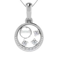 Slater Diamond Pendant