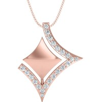 Sonam Gold and Diamond Pendant