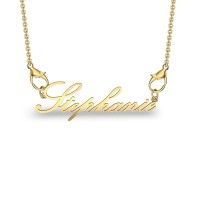 Stephanie Yellow Gold Pendant