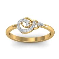 Swivel Mesh Diamond Ring