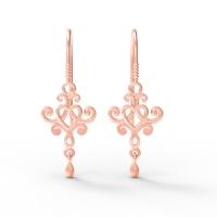 Tatum Gold Earrings