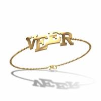 Veer Initial Chain Rakhi