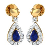 Vienna Diamond Drop Earrings