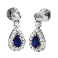 Rachel Diamond Drop Earrings