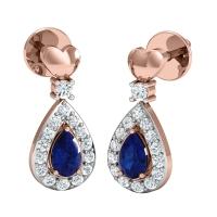 Madalyn Diamond Drop Earrings