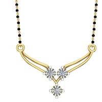 Willow Diamond Mangalsutra