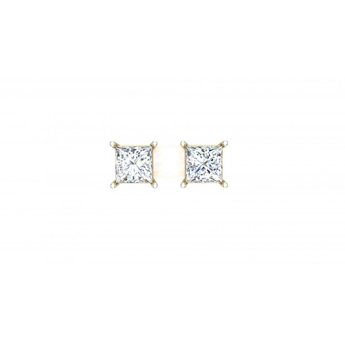 Aarvi Yellow Gold Stud earring