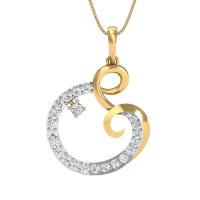 Anita Gold and Diamond Pendant