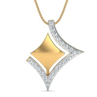 Yasma Gold and Diamond Pendant