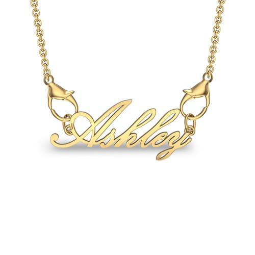 Ashley Yellow Gold Pendant
