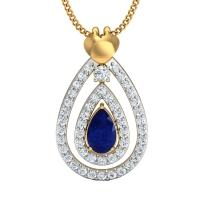 Kalpeshwari Gold and Diamond Pendant