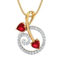 Neeru Gold and Diamond Pendant
