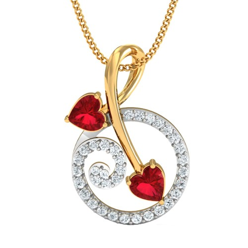Neeru Gold and Diamond Pendant