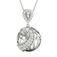Bailey Gold and Diamond Pendant