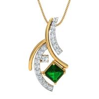 Brisa Gold and Diamond Pendant