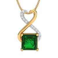 Sujita Gold and Diamond Pendant