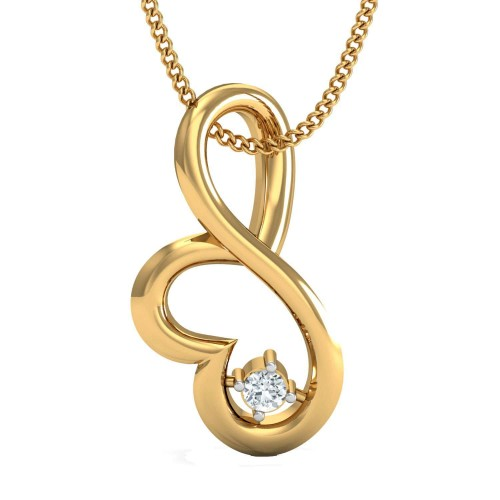 Christina Gold and Diamond Pendant