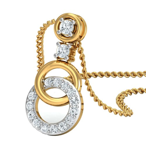 Clara Gold and Diamond Pendant
