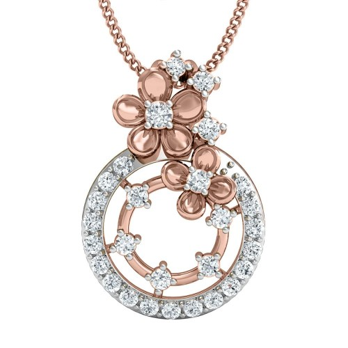 Aarpita Gold and Diamond Pendant