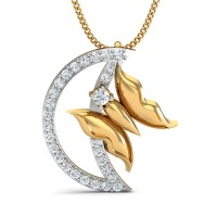 Swati Gold and Diamond Pendant