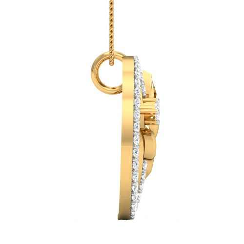 Dolly Gold and Diamond Pendant