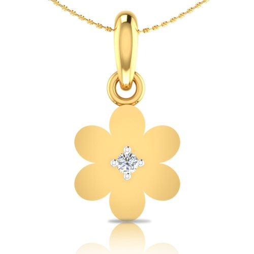 Emma Gold and Diamond Pendant