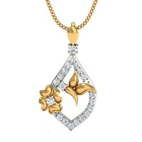 Sunita Gold and Diamond Pendant