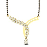 Genesis Gold and Diamond Pendant