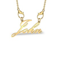 John Yellow Gold Pendant