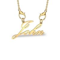 John Yellow Gold Pendant