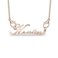 Kristine Rose Gold Pendant