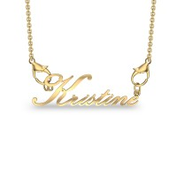 Kristine Yellow Gold Pendant