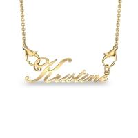 Kristine Yellow Gold Pendant