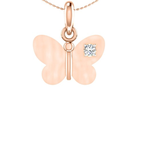 Lily Gold and Diamond Pendant