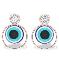 Neelakshi Evil Eye Diamond Earrings
