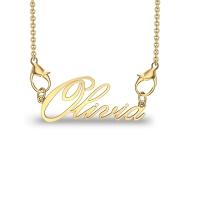 Olivia Yellow Gold Pendant