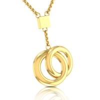 Rachel Gold Pendant