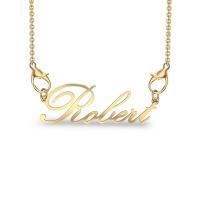 Robert Yellow Gold Pendant