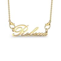 Rebecca Yellow Gold Pendant