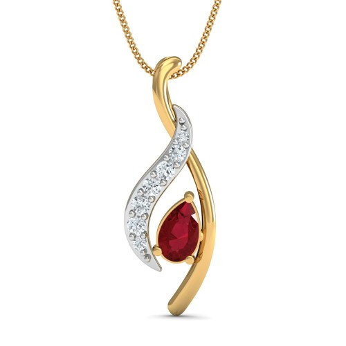 Briella Gold and Diamond Pendant