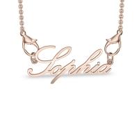 Sophia Rose Gold Pendant