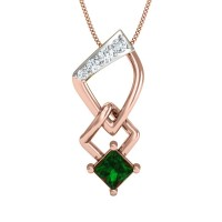 Roshni Gold and Diamond Pendant