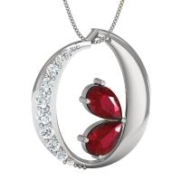 Veronica Gold and Diamond Pendant