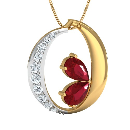 Bryna Gold and Diamond Pendant